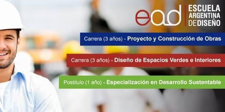 Charla Informativa - Carrera Proyecto y Construcción de Obras (Res. 177/12) entradas