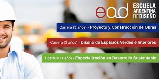 Charla Informativa - Carrera Proyecto y Construcción de Obras (Res. 177/12)