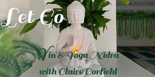 Let Go - Yin and Yoga Nidra