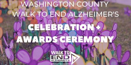 Washington County Walk to End Alz Celebration + Awards Ceremony