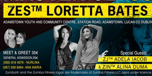 Master Class with Loretta Bates and Special Guest- Adela Iacob and Alina Duma