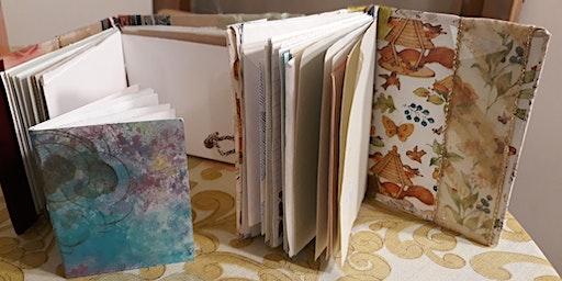 Simple Sketchbook Binding and Personalizing