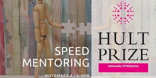 Hult Prize UW Speed Mentoring