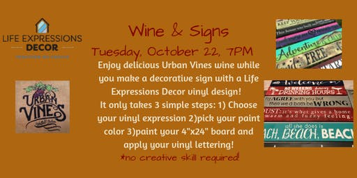 Wine & Signs