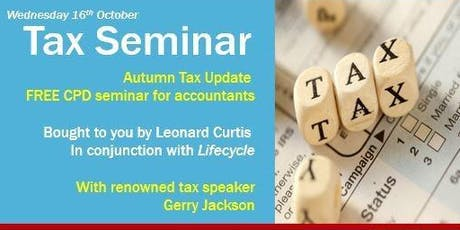 Free Tax Seminar for Accountants tickets