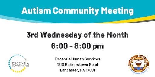 October Autism Community Meeting
