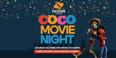 Coco Movie Night at Boost Mobile!