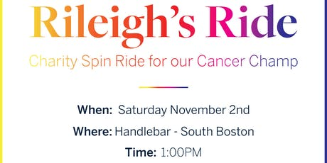 Rileigh's Ride - a ride for our canine cancer champ! tickets