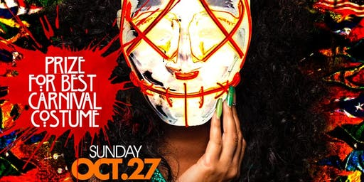 Sunday Oct. 27th Hallow-Fete @ Hudson Terrace • the Ultimate Halloween Flag