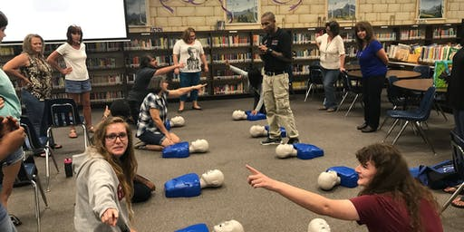 CPR AED Skills Session, $75 Same Day Certification