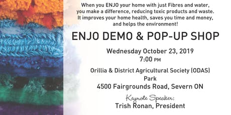 ENJO Demo & Pop Up Shop Orillia tickets