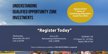 Understanding  Qualified opportunity Zone  Investments tickets