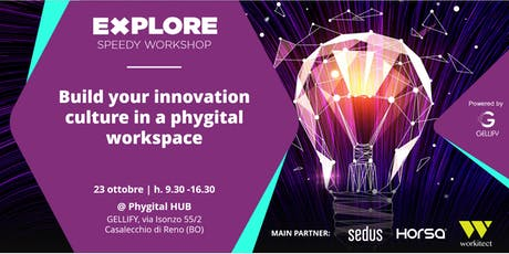 Speedy Workshop - Build an Innovation Culture in a Phygital Workspace biglietti