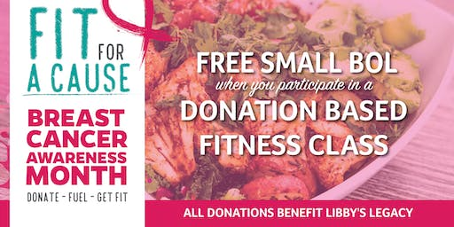 Free Bolay & Fit For A Cause Yoga with Yoga Pod!