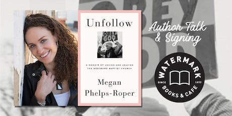 An Evening with Activist and TED Speaker Megan Phelps-Roper tickets