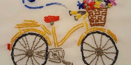 Beginning Embroidery Class