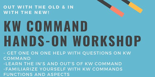 KW Command Hands-on Workshop