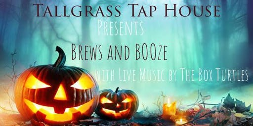 Tallgrass Tap House presents Brews and BOOze