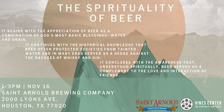 Spirituality of Beer tickets
