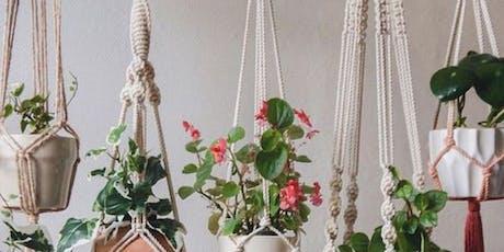 Create + Flow : Macrame Plant Hanger tickets