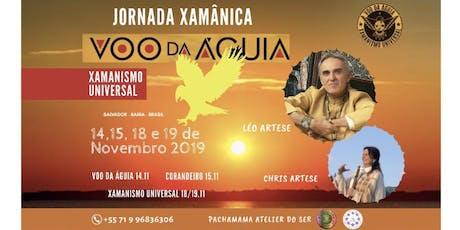JORNADA XAMÂNICA VOO DA ÁGUIA ingressos