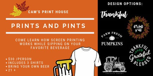 Prints and Pints