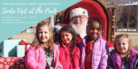 Santa Visit and Photos at the Park tickets