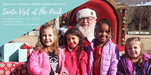 Santa Visit and Photos at the Park