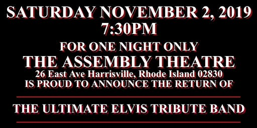 Robert Black & The Elvis Express Band live at The Assembly Theatre