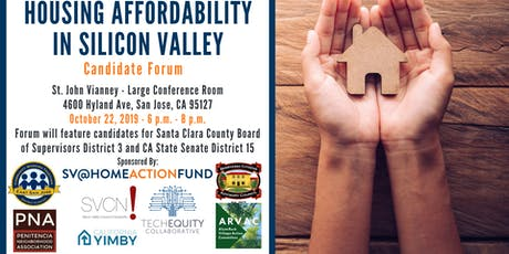 Housing Affordability in Silicon Valley: Candidate Forum Series #3 tickets