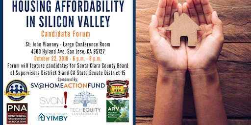 Housing Affordability in Silicon Valley: Candidate Forum Series #3