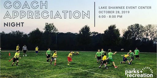 Shawnee County Parks + Recreation Coach Appreciation Night