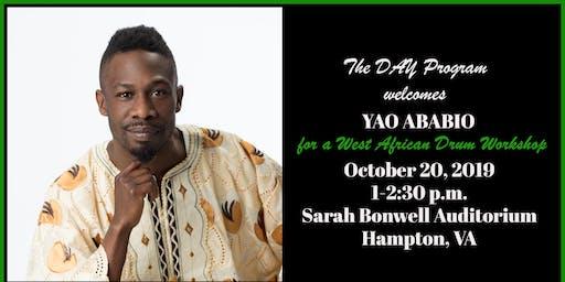 The DAY Program welcomes YAO ABABIO