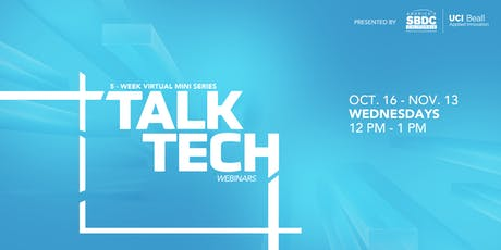 Talk Tech: Virtual Mini-Series tickets