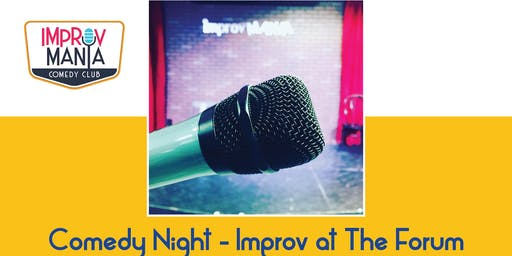 Comedy Night-Improv at The Forum