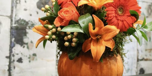 Flowering Pumpkins & Pinot with Alice's Table