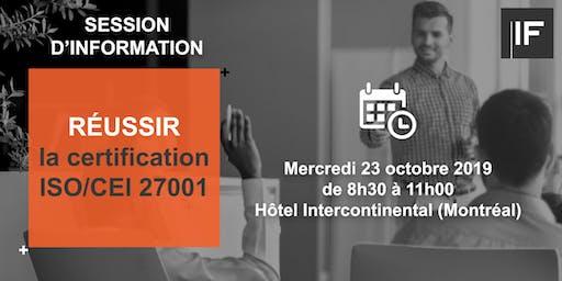 Réussir la certification ISO/CEI 27001 : les bonnes pratiques à adopter