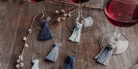 Create + Flow : Macrame Earrings, Wine Charms & Keychains tickets