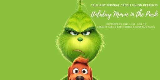 Holiday Movie at the Park: The Grinch (2018, PG)