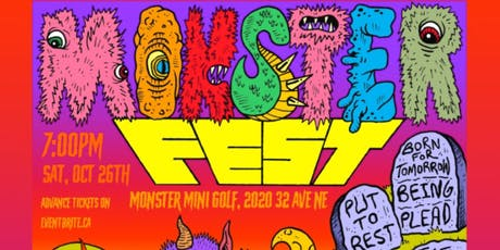 Monster Metal Fest- Put to Rest, BEING & guests-Monster Mini Golf tickets