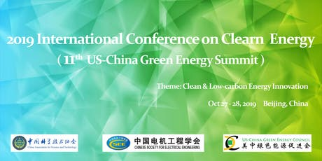 2019 International Conference on Clean Energy tickets