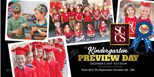 SCCS Fall Kindergarten Preview Day