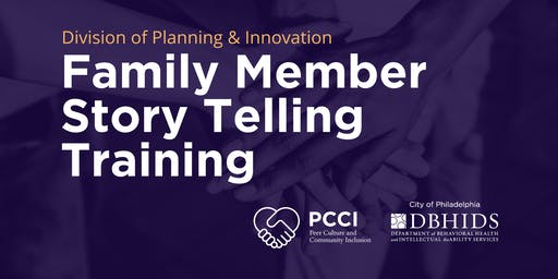 Family Member Story Telling Training