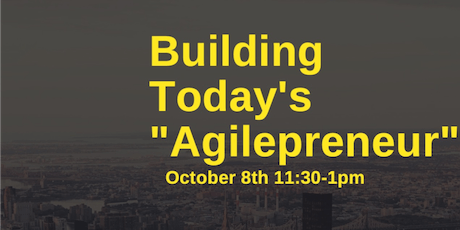 Building Today's Agilepreneur tickets