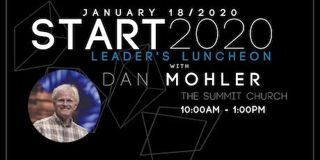 Leader's Luncheon  |  Dan Mohler tickets