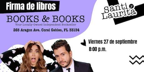 Presentación del libro Casados y Complicados con Santi y Laurita tickets