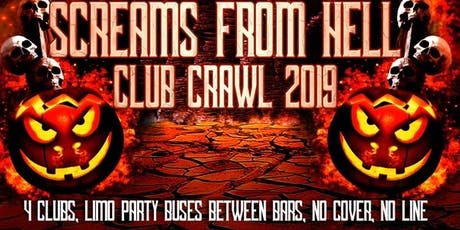 Halloween Party Bar Crawl Toronto 2019 tickets