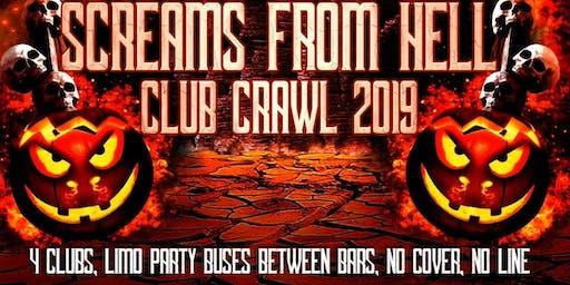 Halloween Party Bar Crawl Toronto 2019