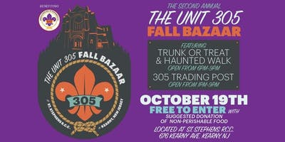 Unit 305 Fall Bazaar