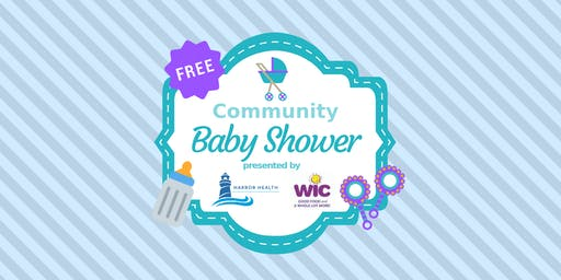 Community Baby Shower at Daniel Driscoll - Neponset Health Center